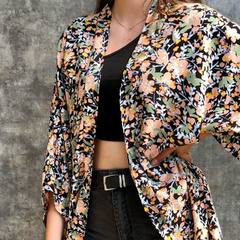 Voilà l' été, voilà l' été , voilà l' étééééééé ... #kimono #motifjaponais #kimonostyle #été #vetementfemme #vetementété #kimonofluide #fluidité #creationfrancaise #creationfemme #creation #3princessandco