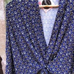 Nouveaux kimonos en place à @etabli65_alambria #yvoire #kimono #mode #faitmain #creatricefrancaise #creationartisanale