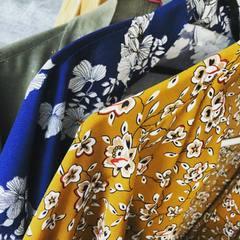 Dès demain samedi, réassort chez @lescreativesthonon .. #kimono #kimonostyle #viscose #fluide #creationsartisanales #boutiquecreateurs #creatricefrancaise